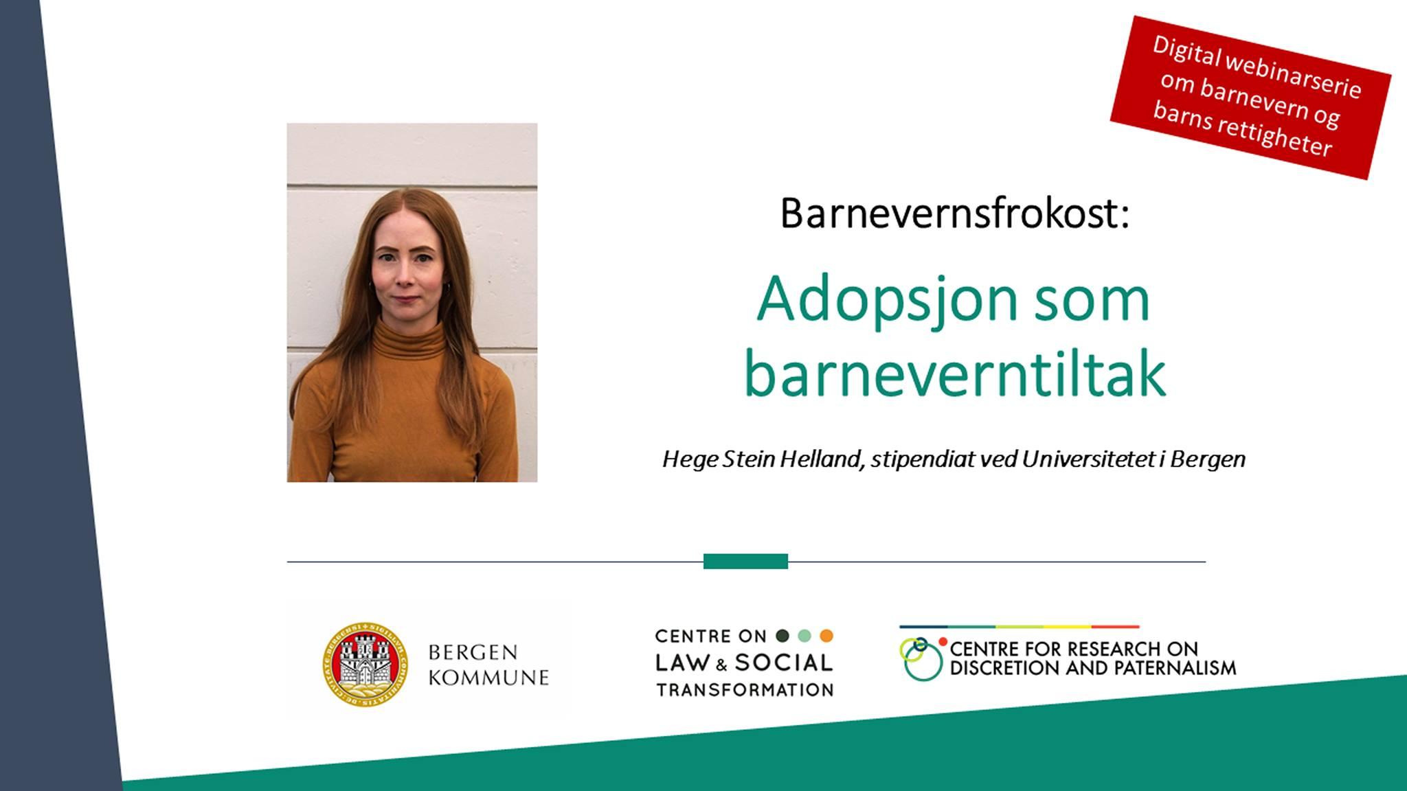 adopsjon som barnevernsvtiltak